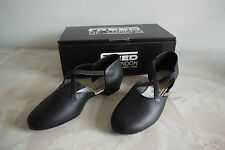 Freed Of London Dance Teaching Shoe Leather Cross Strap - Size 7.5 M