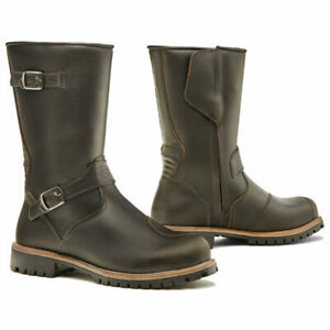 motorcycle boots | Forma Eagle brown womens harley classic waterproof riding