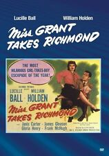MISS GRANT TAKES RICHMOND (1949 Lucille Ball) Region Free DVD - Sealed