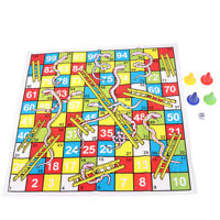 Snake Ladder Educational Kids Children Toys Family Interesting Board Game gif fr