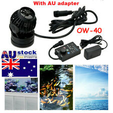 Jebao 35W Aquarium Reef Wave Maker Pump with Controller OW-40 +AU Adapter
