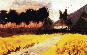 "Vilabertrin (1913) by Salvador Dali - 17"" x 22"" Fine Art Print - 00927"