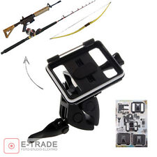 Camera Mount Outdoor Rifle Gun / Fishing Rod / Bow Sportsman for GoPro 2 3 3 + 4