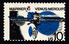 #1557 10c 1975 MNH Mariner 10 Major Color Shift Errors