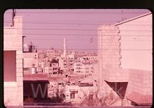 1961 amateur 35mm  Photo slide Amman Jordan #7