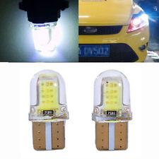 2x Hot Brand T10 194 168 W5W COB LED Car License Plate Dome Map Light Bulb White