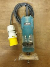 "MAKITA 3707F 110v Palm Router / Trimmer 1/4"" collet"