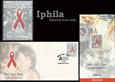 World AIDS Day FDC Folder India issue 2006 Medical Health sex disease medicine
