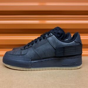 Nike Air Force 1-Type 1 Black/Anthracite Men's Shoes Sz 9 (CJ1281 001)