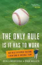 The Only Rule Is That It Has to Work :B Lindbergh and S Miller (2016, Hardcover)