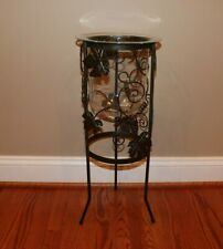 Partylite Grapeleaf Seville 3-wick Candle Holder Stand W/ Original Glass Insert