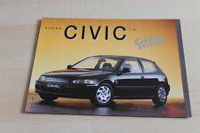 136372) Honda Civic City Edition Prospekt 199?