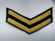 ROYAL NAVY GOOD  CONDUCT STRIPE   8 YEARS SERVICE..