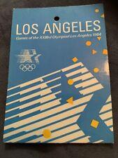 Very Rare Olympics VIP media Pass Los Angeles LA 1984 USA UCSB