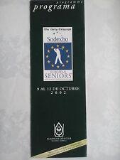 Flamants Marbella Espagne Plat Golf Guide, MAP.2002 Senior Match Jeu Champ, Neuf