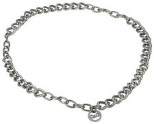 Dolce & Gabbana Silver-Tone Fluid Womens Necklace DJ0773