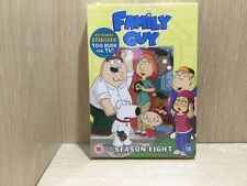 Family Guy Season Eight 8 Boxset DVD New Sealed Extended Episodes Too Rude TV
