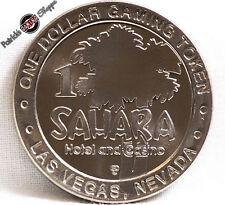 $1 SLOT TOKEN COIN SAHARA HOTEL CASINO 1995 GDC MINT LAS VEGAS NEVADA RARE NEW