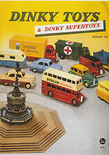 ROBERT  OPIE  ADVERTISING  POSTCARD  -  DINKY  TOYS  &  DINKY  SUPERTOYS