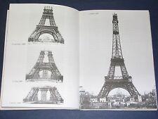 La Tour Eiffel Etude sur la tour eiffel illustrée de nbrx documents Harris 1977