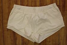 NEW Solow Women's Crackle Activewear Shorts in White