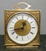 Retro English Tempora Battery Mantle Clock with Original Movement