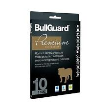 BullGuard Premium Protection 2017 - 1 Year for 10 Devices Users Compatible
