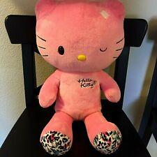 "Build a Bear Hello Kitty Pink Winking 18"" Plush"