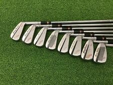 RARE MacGregor Golf TOMMY ARMOUR 945 COLOKROM TOURNEY Iron Set 2-9 Right Steel