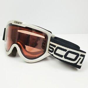 Scott Ski Snowboard Off-Road Goggles Sports Eyewear Tinted Lens Adjustable Band