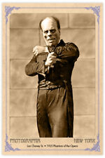 LON CHANEY 1925 Phantom of the Opera Silent Film Legend Vintage Photograph
