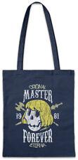 Master Forever Shopper Shopping Bag Gaming Fun Games Gamer Skull Retro