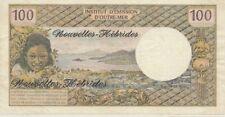 NOUVELLES HEBRIDES 100 FRANCS