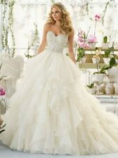 Mori Lee 2815 Size 12 GENUINE Wedding Dress Ivory With tags