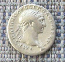 TRAJAN  Roman silver denarius