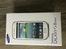 Samsung Galaxy S Mini GT-I8190 8GB Azul Guijarro III Desbloqueado SIM teléfono gratuito