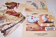 LA PLANETE SAUVAGE  laloux topor jeu 12 photos cinema lobby cards animation 1973