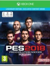 Pro Evolution Soccer 2018 PES 2018 Legendary Edition Xbox One