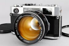 【AB Exc+】 Canon 50mm f/0.95 Dream Lens + 7s Rangefinder Camera From JAPAN #2052