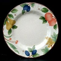 "Mikasa Country Classics Fruit Panorama 6 Salad Plates 8 3/8"" More Pcs Available"