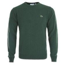 Maglioni e cardigan da uomo verde in lana taglia S