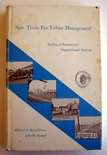 New Tools For Urban Management by Rosenbloom & Russell (1971, hardcover)