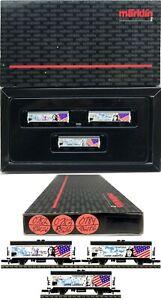 MARKLIN Z SCALE M/M 0782-0783-0784 Refrigerator Car COLLECTOR Set  Box C9