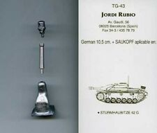 Jordi Rubio 195mm StuH42 with Saukopf German Sturmhaubitze 42 G TG43