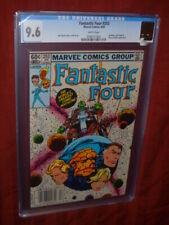 Fantastic Four #253 CGC 9.6    Newsstand copy,  Annihilus app.