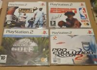 4 x Sony Playstation 2 / PS2 Full Game Promo / Promotional Game Disc Lot, Bundle