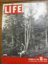 LIFE Oct 29 1945 Nazi criminals, English country home, Piper Cub, NYC 1945 Mayor