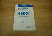 Suzuki GS500 F BK 04-08 Fahrerhandbuch xf109