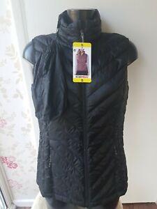 Women's 32 Degrees Heat Sleeveless Puffer Jacket. UK Size Large - Blue
