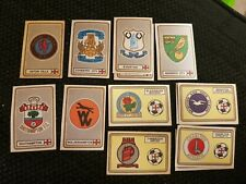 Panini 79 Badges stickers - Complete your set - special offer